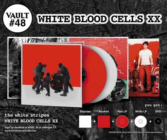 The White Stripes Mark 20 Years of 'White Blood Cells' with Unreleased Rarities