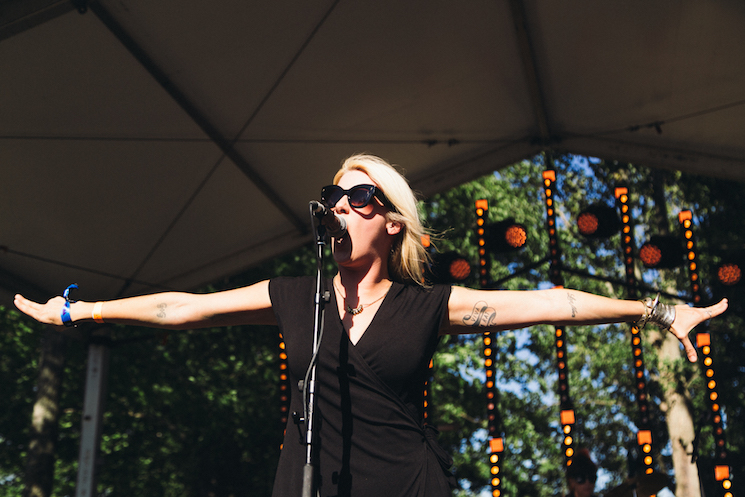 White Lung WayAway Stage, Oro-Medonte ON, July 22