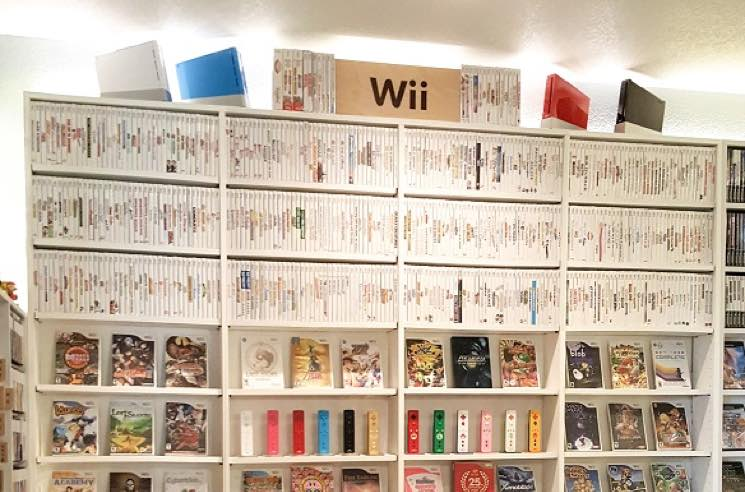 ​This Guy Has Collected All 1,262 Wii Games