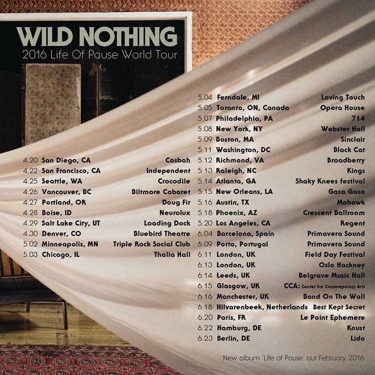 Wild Nothing Takes 'Life on Pause' on World Tour
