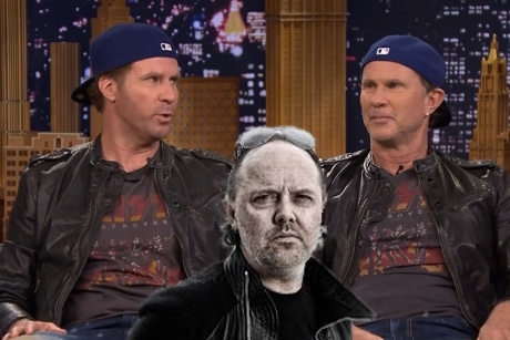 Metallica's Lars Ulrich Accepts Challenge to Face Will Ferrell and RHCP's Chad Smith in Drum Battle