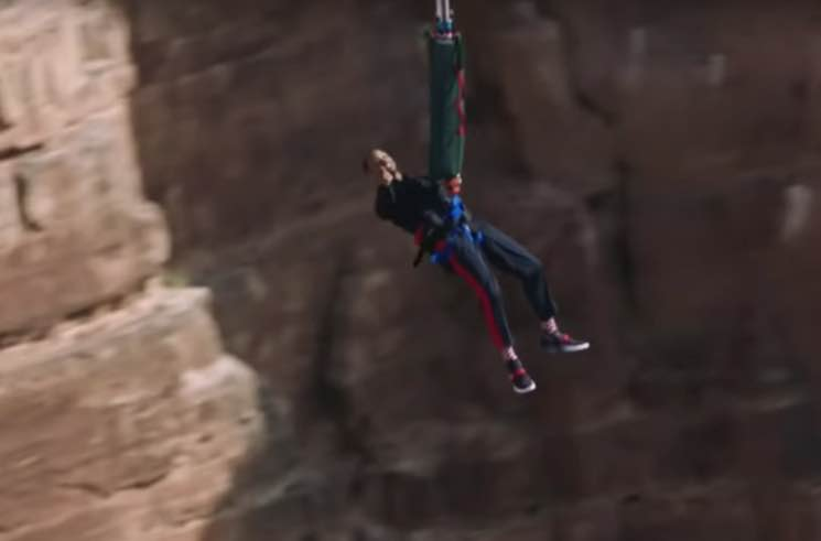 ​Will Smith Celebrates 50th Birthday by Jumping into the Grand Canyon
