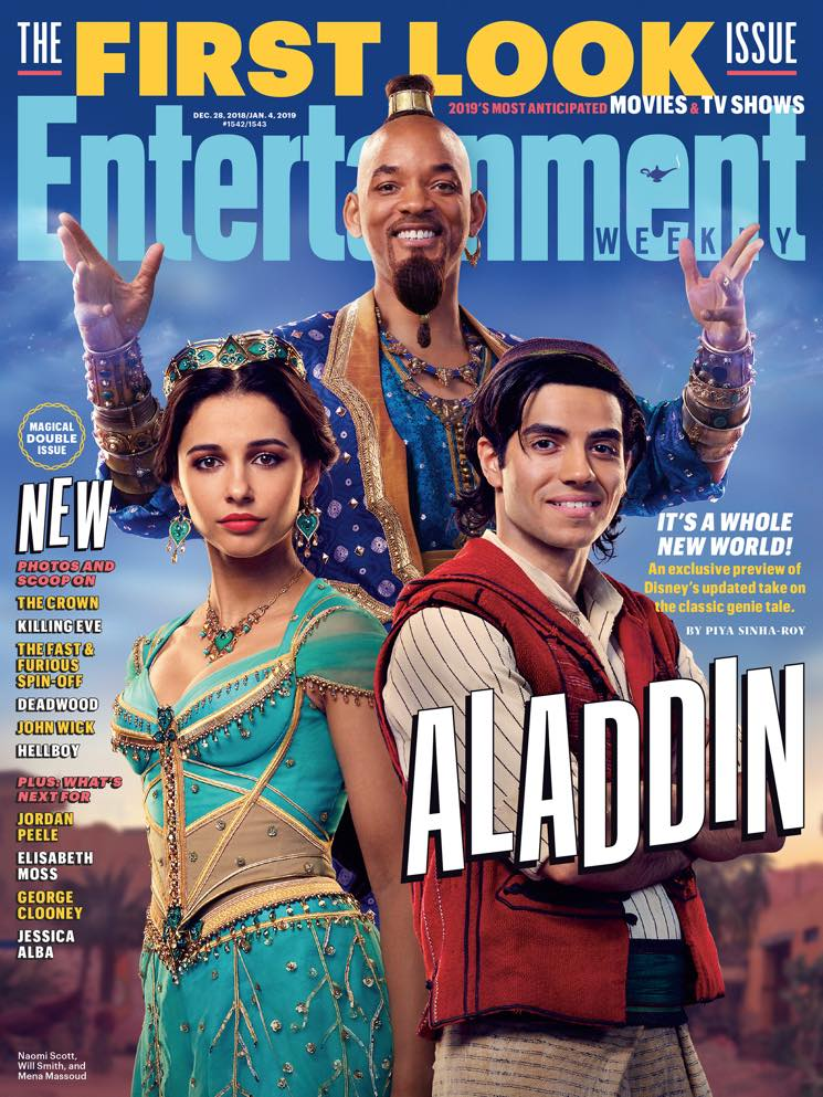 ​Will Smith's Genie in the Live-Action 'Aladdin' Remake Isn't Blue and Twitter Is Confused