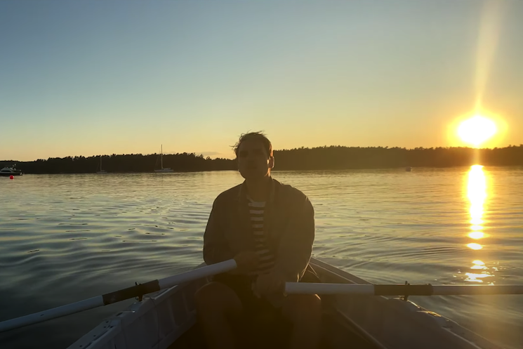 Watch Arcade Fire's Will Butler Row, Row, Row His Boat in 'Close My Eyes' Video