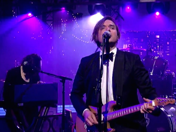 Will Butler 'Take My Side' (live on 'Letterman')