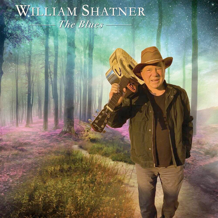William Shatner Is Releasing a Blues Album Called 'The Blues'