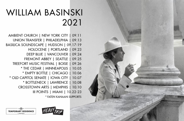 William Basinski to Play Vancouver on North American Tour