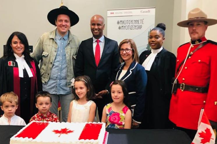 Arcade Fire's Win Butler Is Officially a Canadian Citizen
