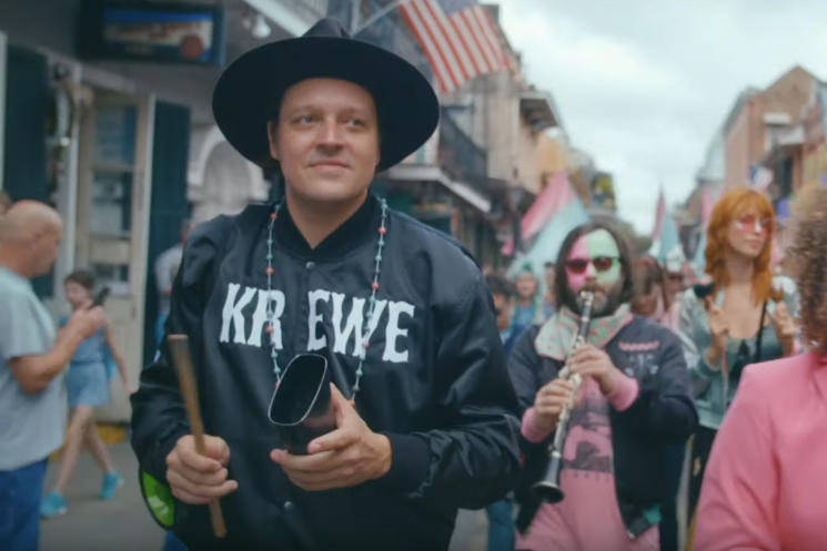"Watch Arcade Fire Party in New Orleans for Lakou Mizik's ""Iko Iko"" Reimagining"