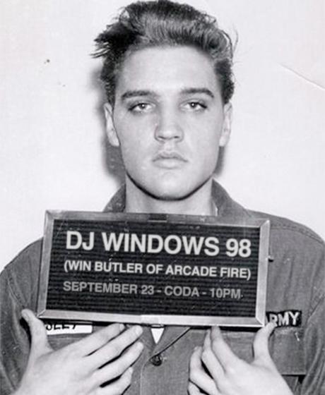 Arcade Fire's Win Butler Announces Toronto Gig as DJ Windows 98
