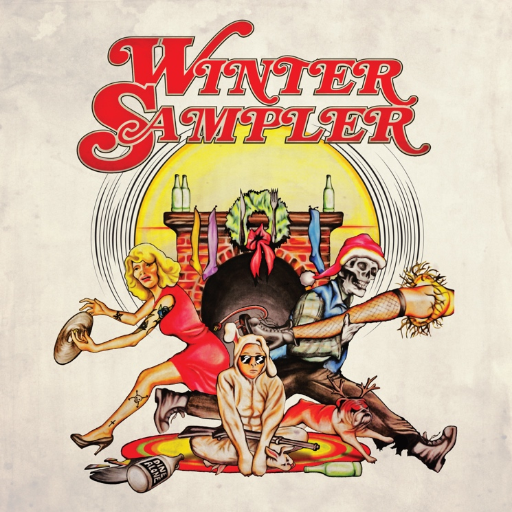 Various Artists 'Dine Alone 2015 Winter Sampler'
