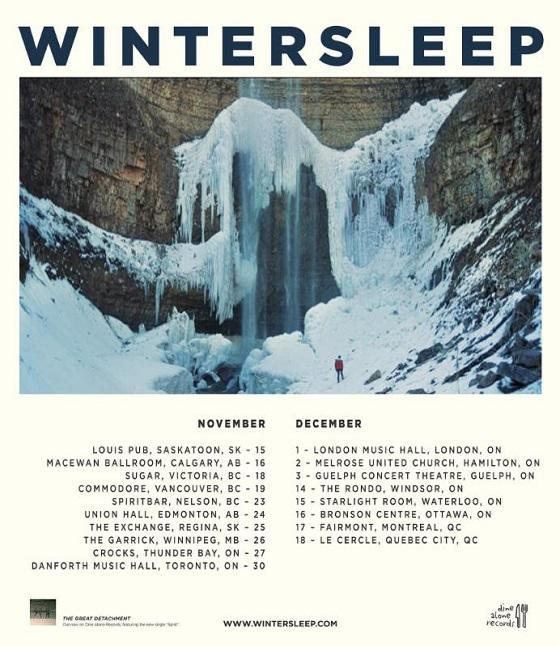 Wintersleep Announce More 'Great Detachment' Canadian Dates