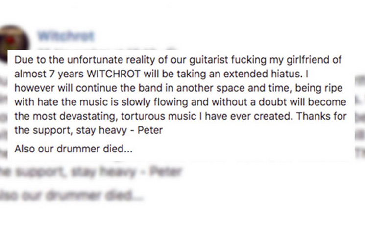This Toronto Metal Band Just Broke Up in the Most Amazing Way Possible