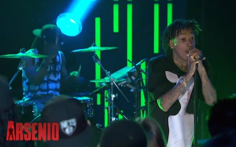 "Wiz Khalifa ""We Dem Boyz"" (live on 'Arsenio')"