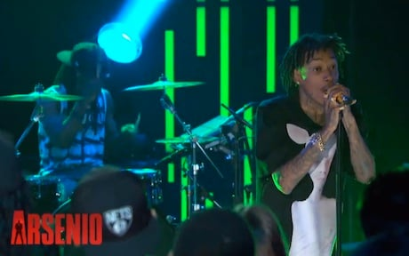 Wiz Khalifa 'We Dem Boyz' (live on 'Arsenio')