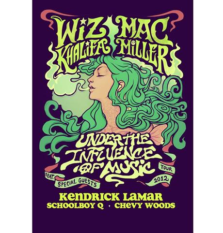 Wiz Khalifa, Mac Miller, Kendrick Lamar, Schoolboy Q Announce Joint North American Tour, Play Toronto