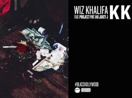 "Wiz Khalifa ""KK"" (ft. Project Pat and Juicy J)"