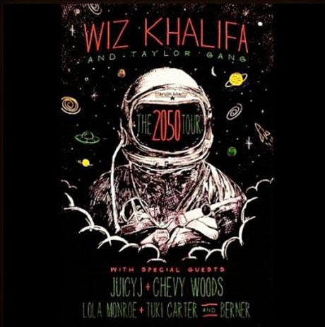 Wiz Khalifa Reveals '2050 Tour,' Lines Up Canadian Dates