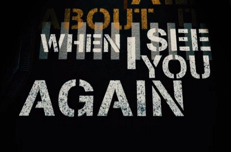 Wiz Khalifa 'See You Again' (ft. Charlie Puth) (lyric video)