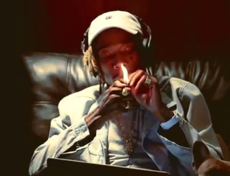 "Wiz Khalifa ""Lit"" (video)"