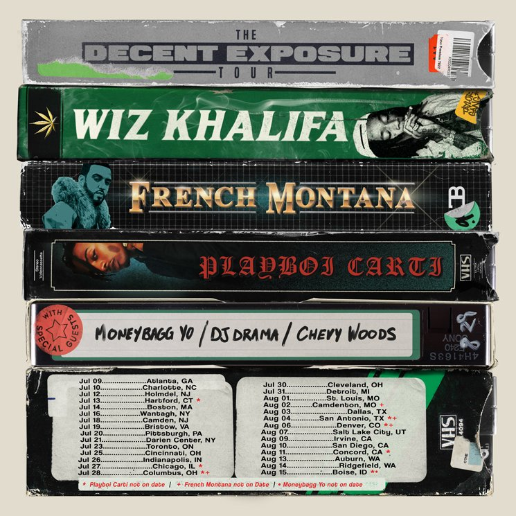 "Wiz Khalifa to Play Toronto on ""The Decent Exposure Tour"""