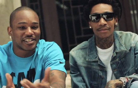"Wiz Khalifa ""The Bluff"" (ft. Cam'ron) (video)"
