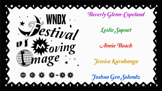 Winnipeg's WNDX Festival of Moving Image Details 2020 Edition