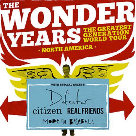 The Wonder Years Take 'The Greatest Generation' on North American Tour