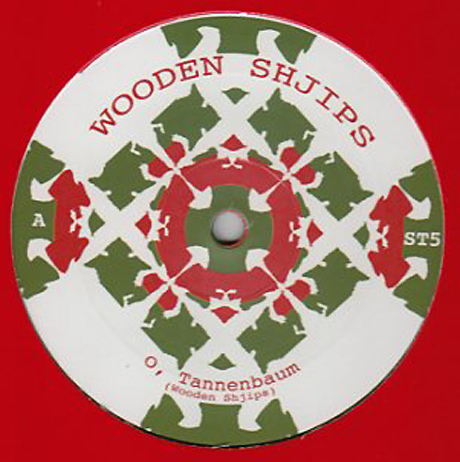 Wooden Shjips Drop Christmas-Themed Twelve-Inch