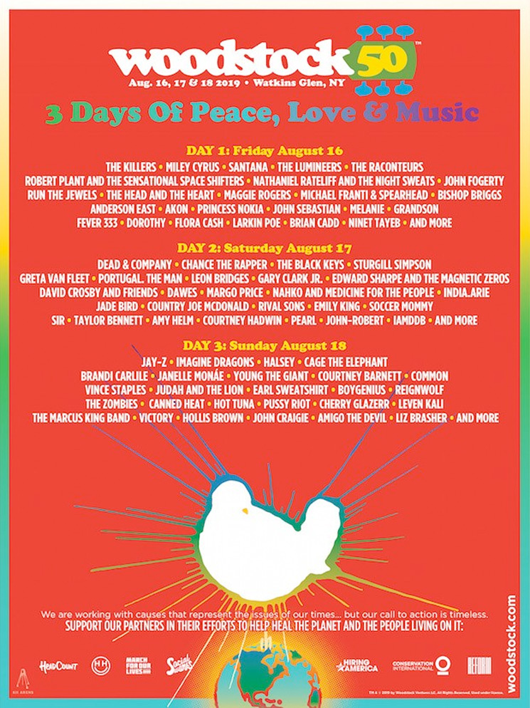 Woodstock 50 Has Been Cancelled, Financial Partners Claim