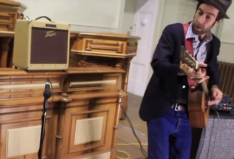 "Woodworker ""Saint Christopher/Saint Peter"" (Old Courthouse Sessions video)"