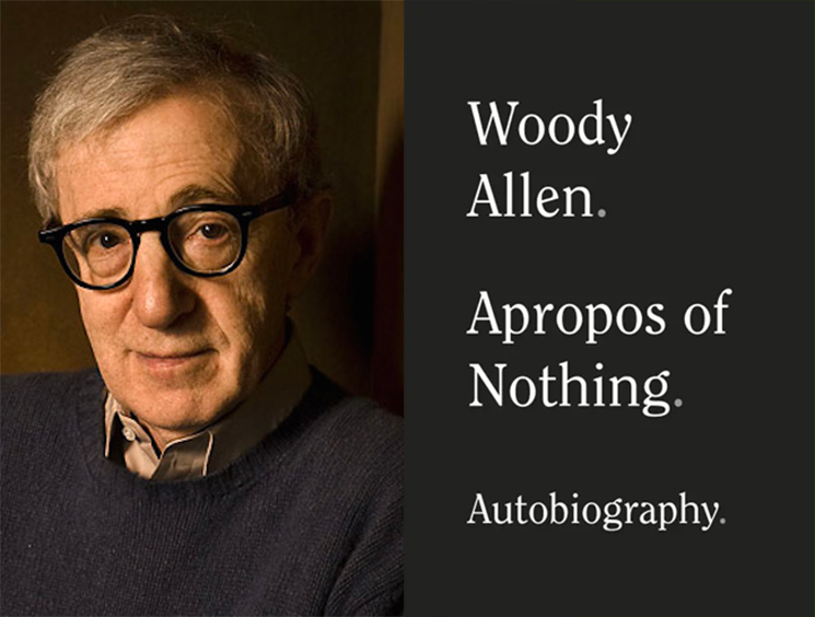 Woody Allen's Memoir Was Just Released Through a Different Publisher