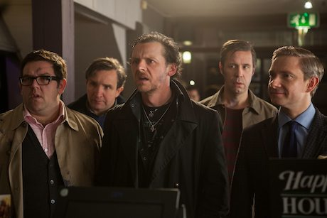 Edgar Wright and Nick Frost 'Balls Deep' in 'The World's End'