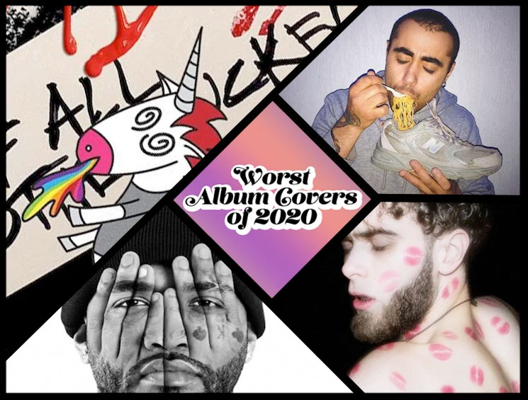 Here Are the 33 Worst Album Covers of 2020