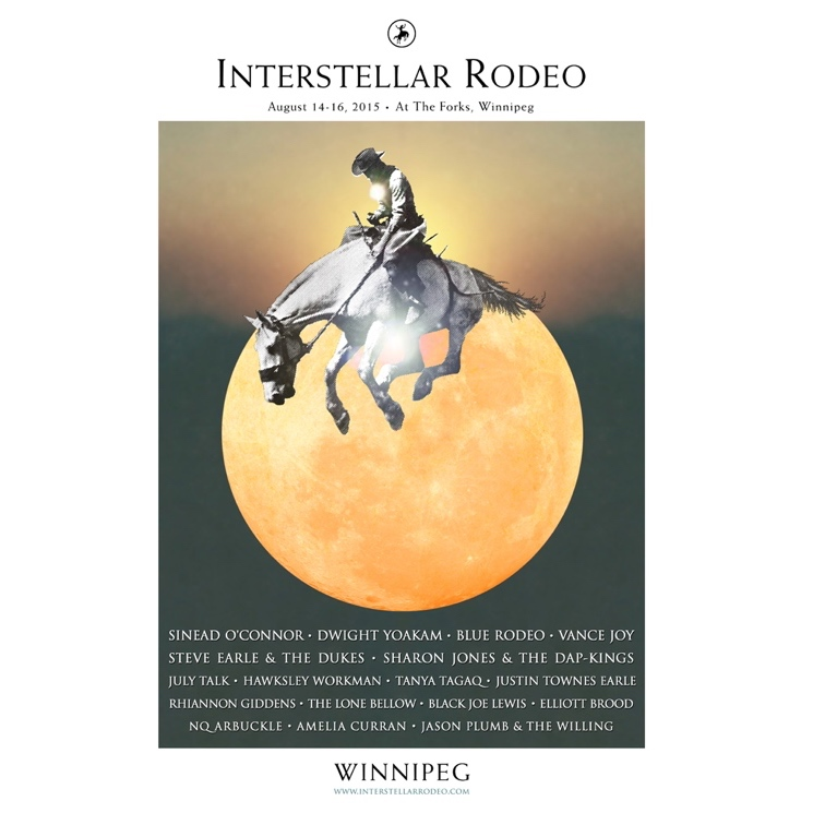 Interstellar Rodeo Announces Lineup of Inaugral Winnipeg Edition
