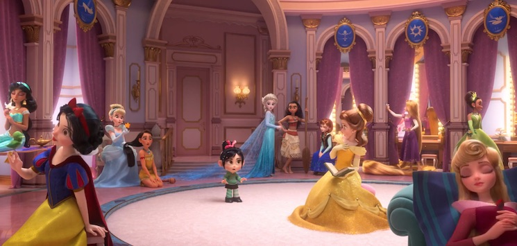 Disney Princesses and Stormtroopers Wreak Havoc in 'Wreck-It Ralph 2' Trailer