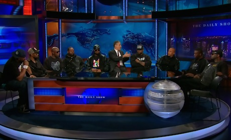 "Wu-Tang Clan ""Ron O'Neal"" / ""Triumph"" (live on 'The Daily Show')"