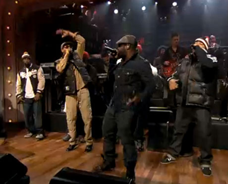 Wu-Tang Clan 'Protect Ya Neck' (live on 'Fallon')