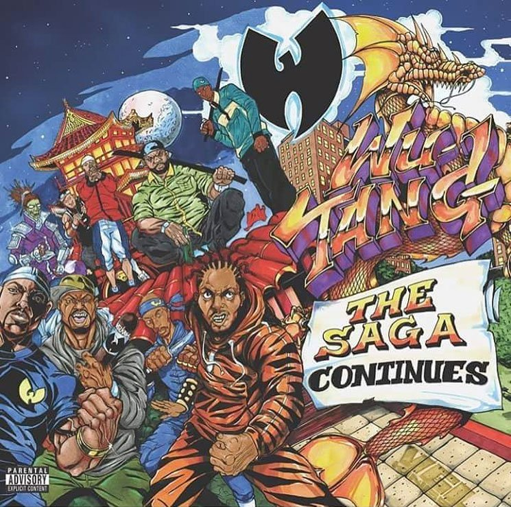 Wu-Tang 'The Saga Continues' (album stream)