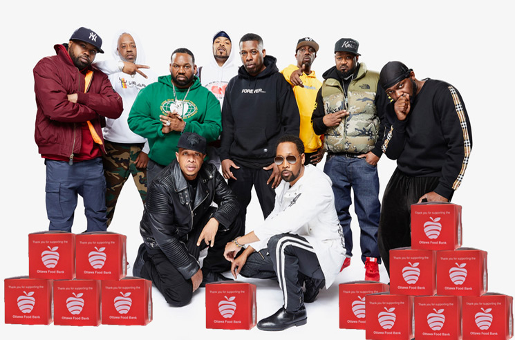 Wu-Tang Clan Is for the Children — and the Ottawa Food Bank