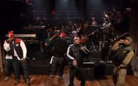 "Wu-Tang Clan ""Six Directions of Boxing"" (live on 'Fallon')"
