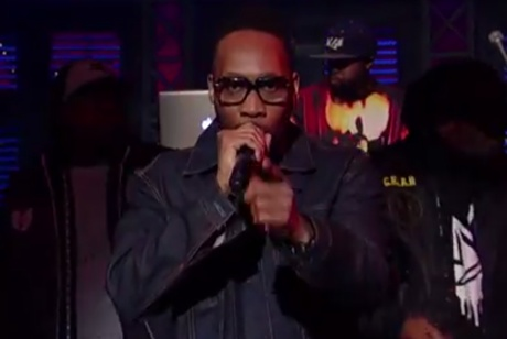 Wu-Tang Clan 'Ruckus in B Minor' (live on 'Letterman')