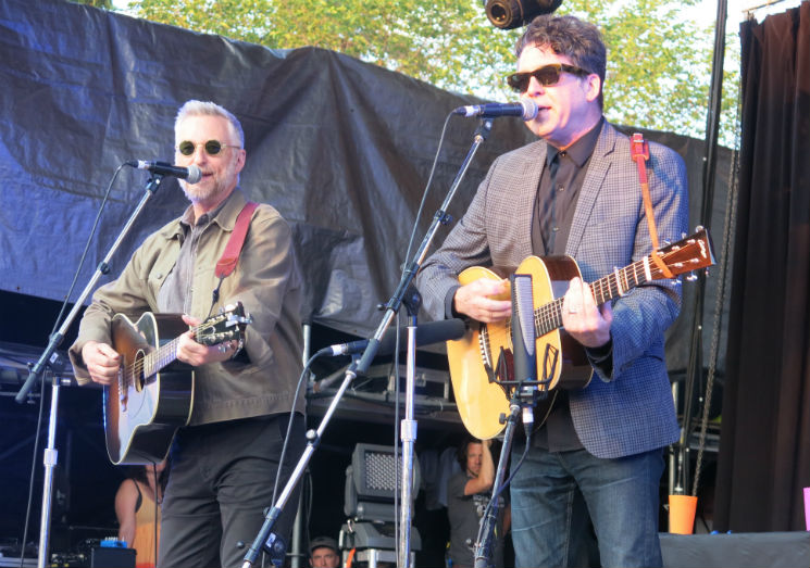 Billy Bragg and Joe Henry Main Stage, Guelph ON, July 16
