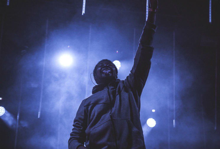 Danny Brown WayAway Stage, Oro-Medonte ON, July 28