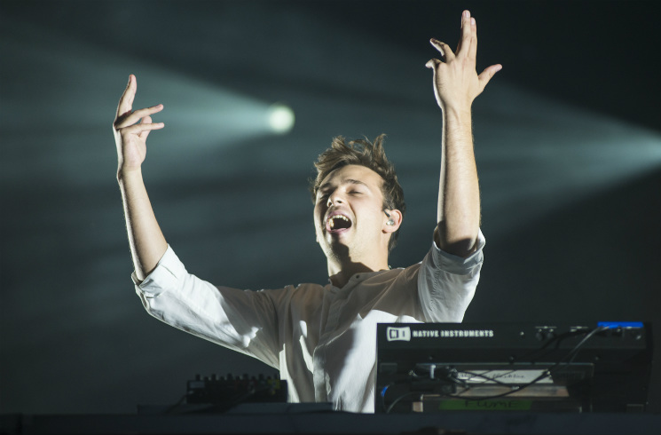 Flume WayHome Stage, Oro-Medonte ON, July 28