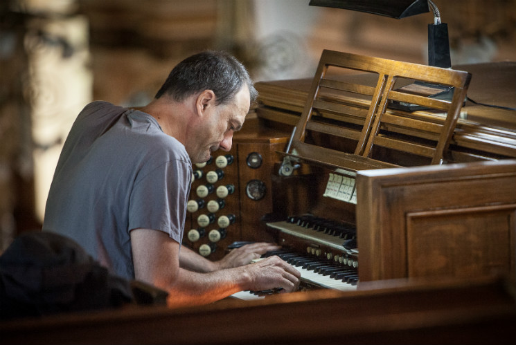 Jean-Luc Guionnet Église Saint-Christophe-d'Arthabaska, Victoriaville QC, May 21