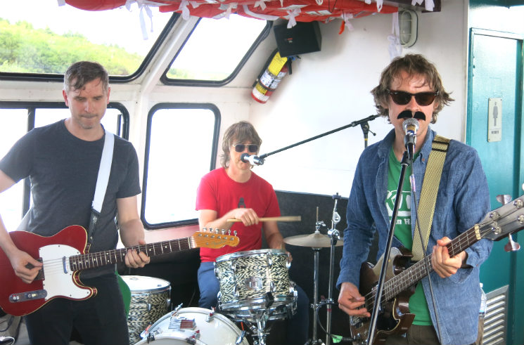 TUNS with Ape-ettes Party Cannon Pirate Cruise, Sudbury ON, July 8