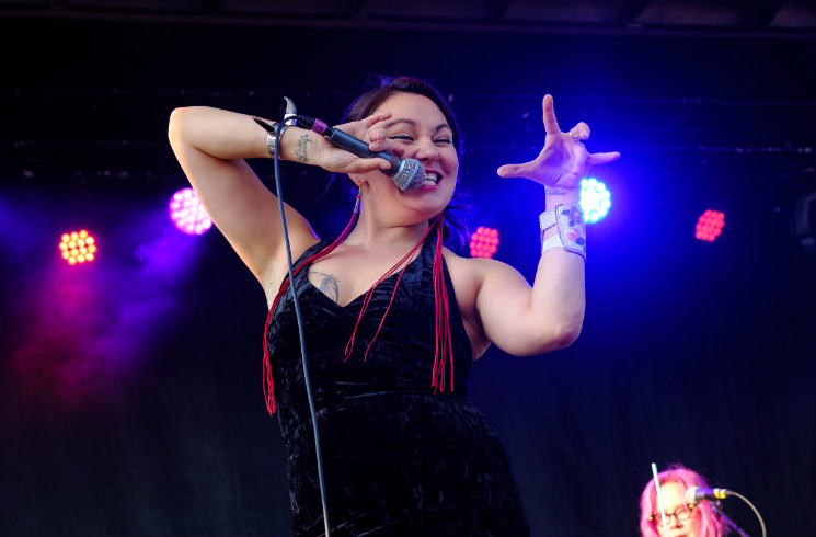 Tanya Tagaq Supercrawl, Hamilton ON, September 10