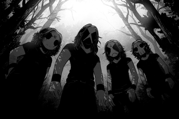 Meet Belzebubs, the Internet's Black Metal Comic Strip Band