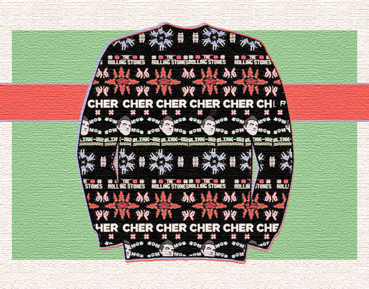 From Cher to Wu-Tang: Ridiculous Ugly Christmas Sweaters for Every Music Fan